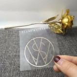 водонепроницаемая печать наклеек, прозрачная наклейка на заказ