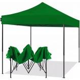 Пользовательские 10x10 футов рекламный алюминиевый полюс складные палатки беседка открытый quonset палатка событ