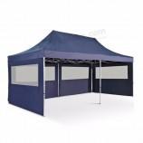 ПВХ брезент huale всплывающая палатка с навесом 10x20 для вечеринок, уличная складная рекламная палатка 3x6