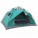 キングギア屋外防水1-2人ハイキングミリタリービーチ折りたたみ自動ポップアップインスタントキャンプテント