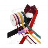 装飾/クリスマス/パーティー/ギフト包装のための無地の低価格の群がった、最高の販売のベルベットのリボン