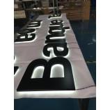 светящиеся буквы с подсветкой символов наружной рекламы