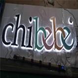 工場の専門家は3D広告の手紙LEDによって照らされるバックライトを当てられた手紙を作りました