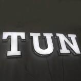 индивидуальный дизайн рекламный светодиодный передний горит буква канала для логотипа
