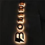 カスタムメイドの広告チャネルの標識は、LEDサイン文字を照らしました