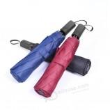 2020ベストセラープロモーションレインプルーフ広告マニュアルオープン3折りたたみ傘(ロゴプリント付き)(BR-FU-612)