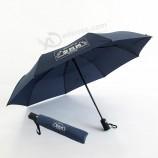 21-дюймовый автоматический трехслойный рекламный зонт