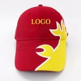 カスタム野球キャップアップリケ刺繍メタルバック閉鎖卸売プロモーション広告野球キャップ帽子