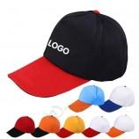 OEM оптовая изготовленная на заказ бейсболка контрастного цвета хлопка для продвижения