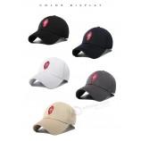 wholesale 6 개의 패널이있는 사용자 정의면 및 dacron 스포츠 모자 중국 스타일 광고 모자는 자신의 모자를 디자인합니다