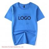 둥근 목 짧은 소매 t- 셔츠 공백 광고 주문 설계 t- 셔츠