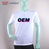広告のためのカスタマイズされたヨーロッパサイズ安いプレーン100コットンTシャツ