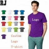 卸売広告カスタムデザイン刺繍Tシャツ