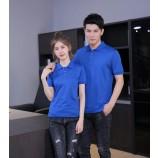 基本的なメンズとレディースのポロTシャツ、会社の制服ポロシャツの広告