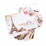 wholesale luxury custom print design postcard a5 leaflet brochure printing servcice