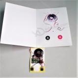 녹음 가능한 사운드 음성 음악 사용자 정의 사운드 및 이미지가있는 녹음 엽서