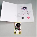 recordable sound voice music talking recording postcard with custom sound and image