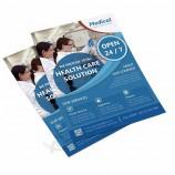 custom design postcard offset printing flyer full color printing service