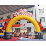 Motor Park Inflatable Advertising Arch for Outdoor