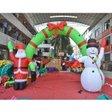 Festival Decoration Inflatable Christmas Arch for Sale
