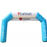 Start & Stop Race PVC Oxford Inflatable Arch for Outdoor Advertising