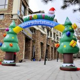 Best Sale Christmas Promotional Snowman Inflatable Christmas Arch for Advertisement