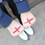 The National Flag of The 2019 Women′s World Cup in France Will Have an Environmentally Friendly and Waterproof Disposable Tattoo on Its Face