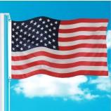 Custom Outdoor 3X5 Feet Polyester Printed National Country Flag USA American Flag