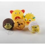 11.5 * 11.0cm 비닐 동물 시끄러운 애완견 장난감