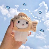 귀여운 붕어빵 봉제 인형 동물 부드러운 장난감 펜던트