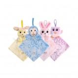 부드러운 천 책-재미있는 동물 꼬리 천 책 아기 장난감 천 개발 책 3 ~ 24 개월 아기