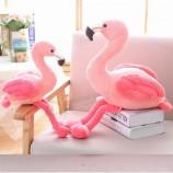 맞춤형 박제 동물 봉제 플라밍고 및 당근 장난감