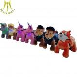 hanselの魅力的な動物のスクーターは乗馬のおもちゃのユニコーンを歩きます