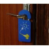 カスタムプラスチック製ホテルのドアハングタグ(PVCカード)を邪魔しないでください。