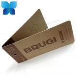 사용자 정의 디자인 재활용 크래프트 종이 청바지 의류 태그