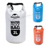 유통 업체 2L 타포린 PVC 방수 수영 캠핑 하이킹 드라이 백