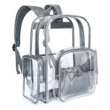 最高の透明なバックパック旅行プラスチックPVCバッグファッションクリアバッグ