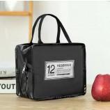 Блестящая сумка-холодильник из ПВХ с алюминиевой фольгой