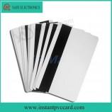 Горячая продажа струйных карт ПВХ с магнитной полосой
