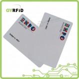 従業員の出席(ISO)用のrfidバッジセキュリティIDカード