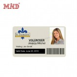 カスタムデザインの印刷可能な学生従業員PVCプラスチックIDカード