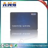 смарт-карта RFID идентификатора безопасности сотрудника tk4100 из ПВХ с цветной печатью cmyk
