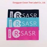 Клей-расплав тканая этикетка фирменный логотип