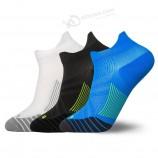 изготовленный на заказ логотип мужские антибактериальные компрессионные модные носки для бега спортивные н