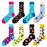 Экологичные хлопковые высококачественные модные мужские носки на заказ