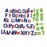 polularアルファベットEVAフォーム磁気学習文字と数字子供の教育玩具