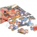 段ボールパズル城ジグソーパズル教育子供のおもちゃ