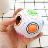 다채로운 조기 교육 장난감 손 두뇌 훈련 클립 마술 생일 선물 무지개 공 장난감