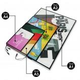 рекламный светодиодный световой короб доска рекламный щит панель алюминиевая рамка для плаката маркетингов
