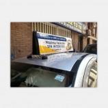 도매 중국 공장 가격 자석 슬림 택시 탑 광고 라이트 박스